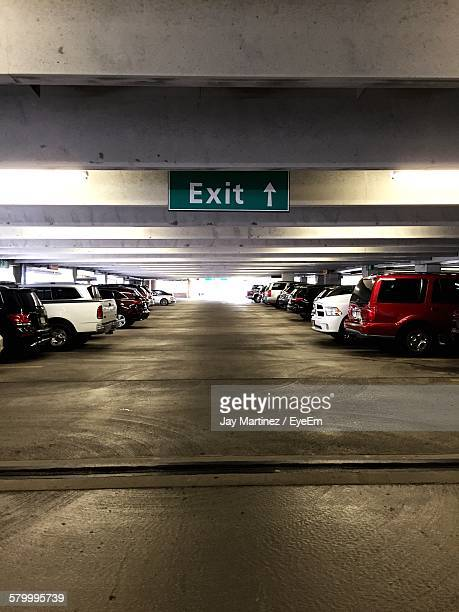 Cars Parked At Airport Parking Lot