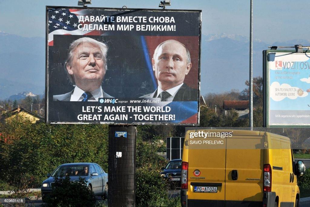 MONTENEGRO-US-RUSSIA-POLITICS : News Photo