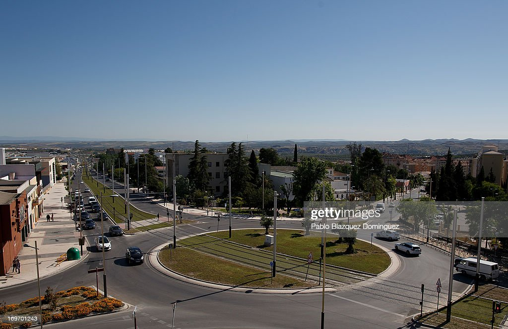 120 million Euros of Tramway Unused in Jaen Photos and Images ...