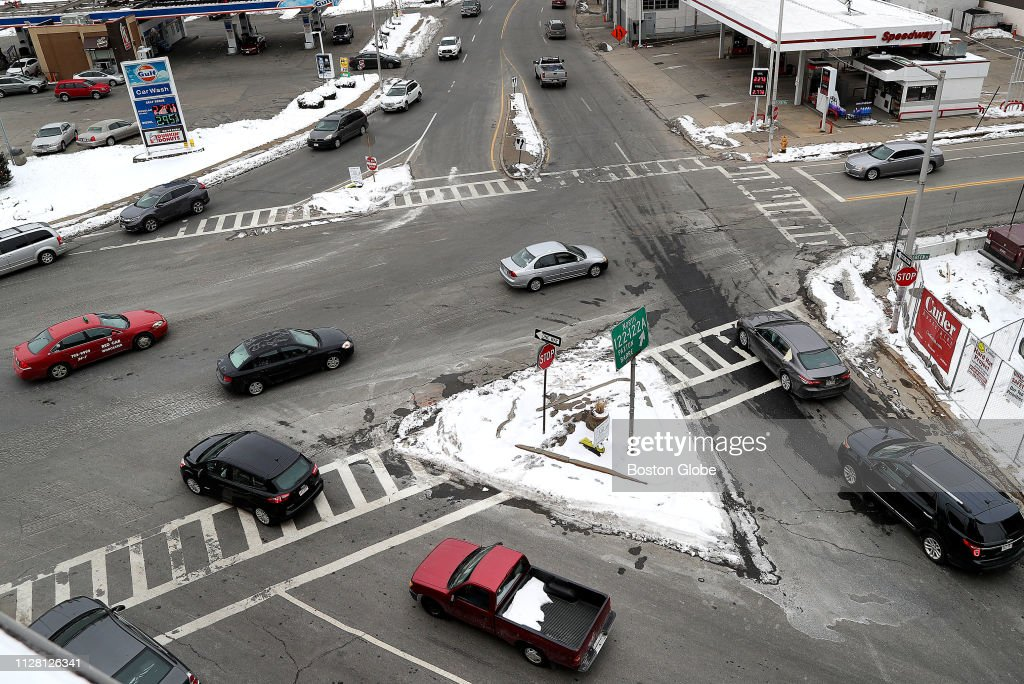 Worcesters Dangerous Kelley Square To Be Redesigned : News Photo