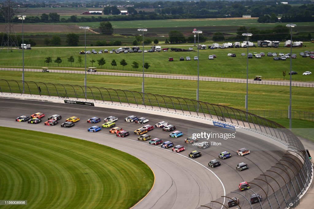 Monster Energy NASCAR Cup Series Camping World 400 : News Photo