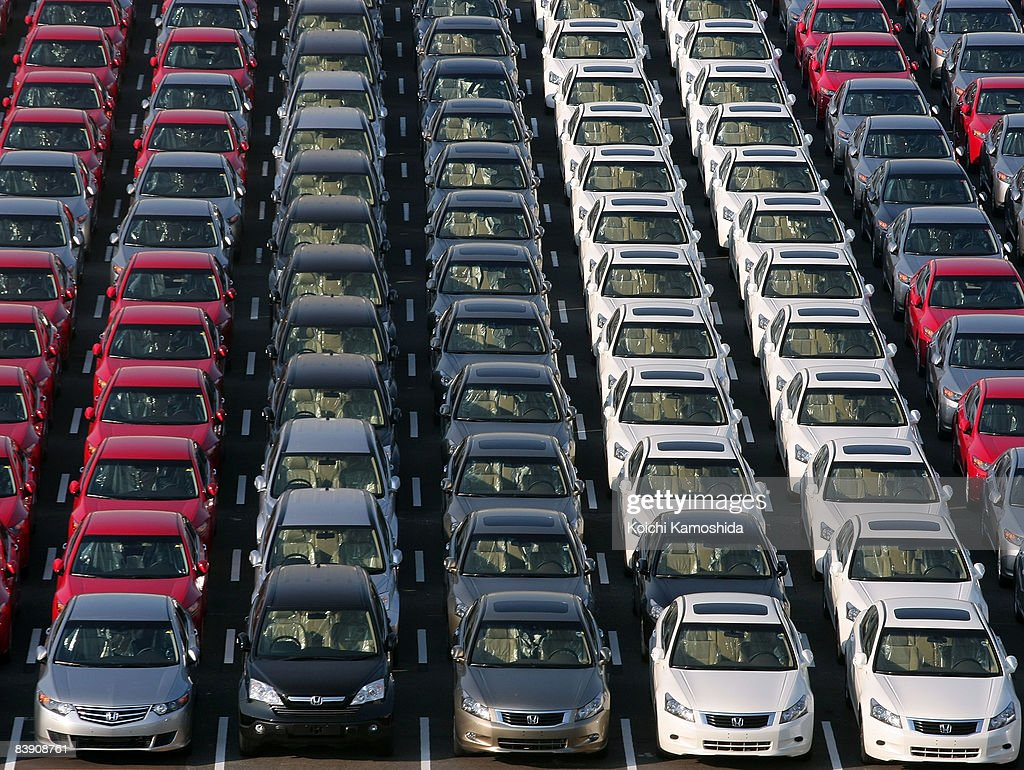 Japanese Automakers Reduce Car Production Photos And Images