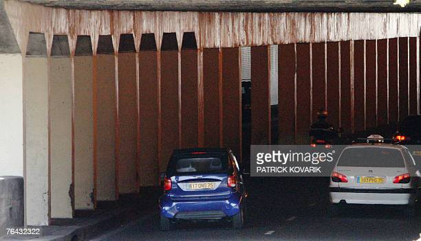 Cars run under the Alma tunnel 31 August 2007 in Paris where the princess Diana's car crashed 10 years ago The Alma tunnel on the north bank of the...