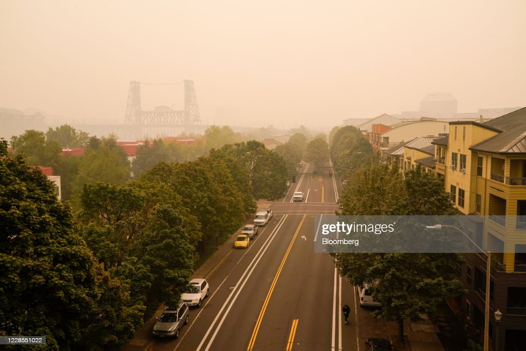 Portland Has World's Worst Air And U.S. Declares An Emergency : News Photo