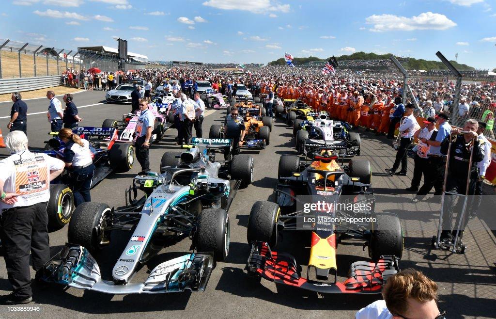 British F1 Grand Prix - Parc ferme : News Photo
