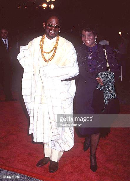 TC Carson and mother Annie Rudd during 28th Annual NAACP Image Awards at Pasadena Civic Auditorium in Pasadena California United States