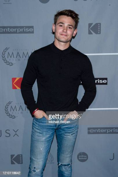 Carson Boatman arrives at 3rd Annual Mammoth Film Festival Red Carpet Monday on March 02 2020 in Mammoth Lakes California
