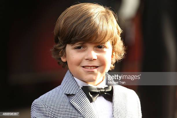 Carson Bolde arrives at the Los Angeles premiere of 'Godzilla' held at Dolby Theatre on May 8 2014 in Hollywood California