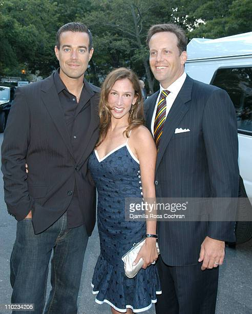 Carson Daly Allison Waterman and Todd Waterman during 'BuildABear Workshop' at Fresh Air Fund Spring Gala 2005 Inside at Tavern on the Green in New...