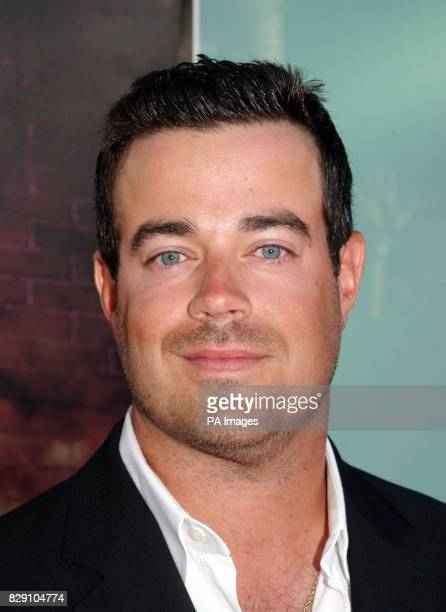 Carson Daly arrives for the premiere of her latest film Catwoman Monday 19 July 2004 held at the Cinerama Dome Theatre Los Angeles USA
