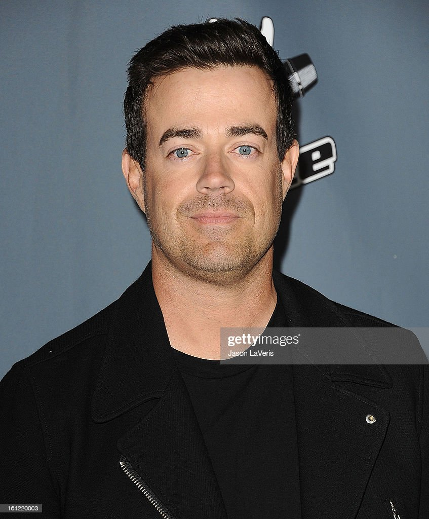 Carson Daly attends NBC's 'The Voice' season 4 premiere at TCL Chinese Theatre on March 20, 2013 in Hollywood, California.
