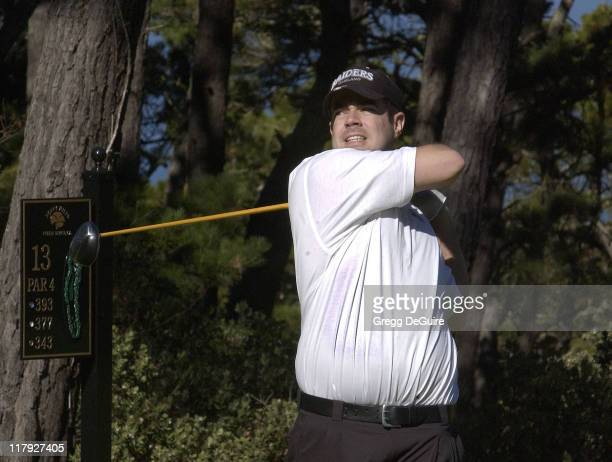Carson Daly during 2002 AT&T Pebble Beach National Pro-Am, Round 1 at Poppy Hills in Carmel, California, United States.
