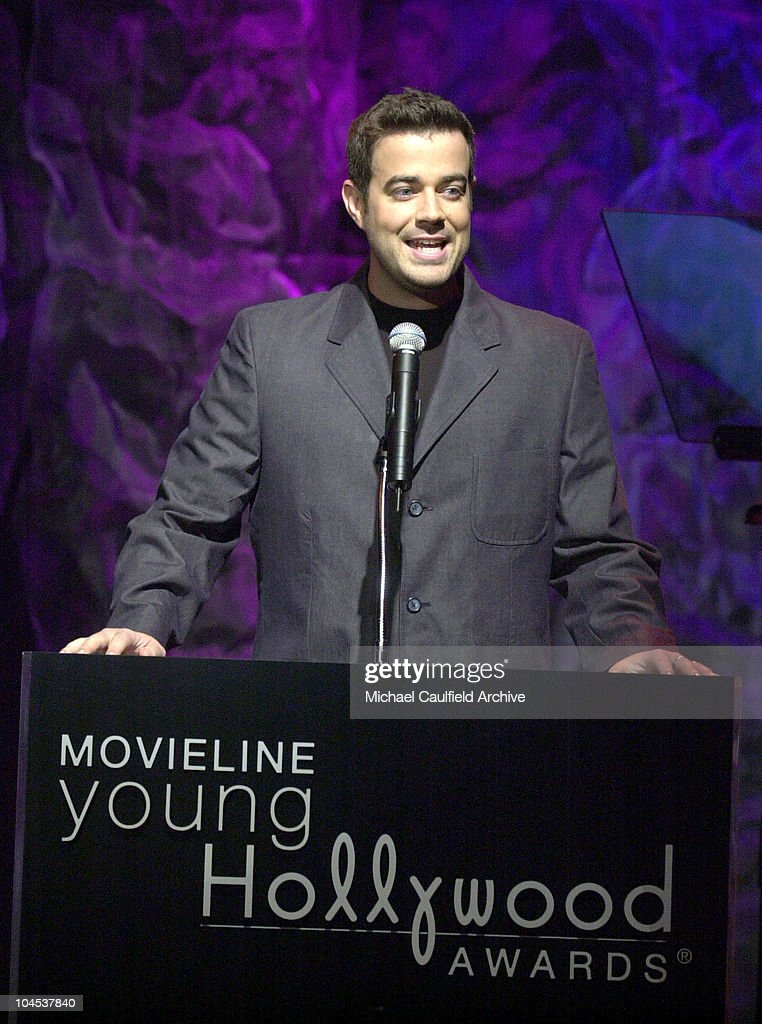Carson Daly During 3rd Annual Movieline Young Hollywood Awards