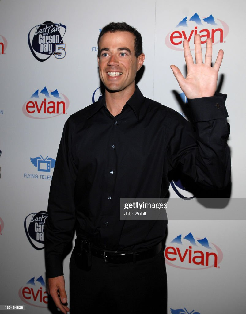 Carson Daly during 'Last Call with Carson Daly' 5 Year Anniversary Party at Social Hollywood, Level 2 in Hollywood, California, United States.