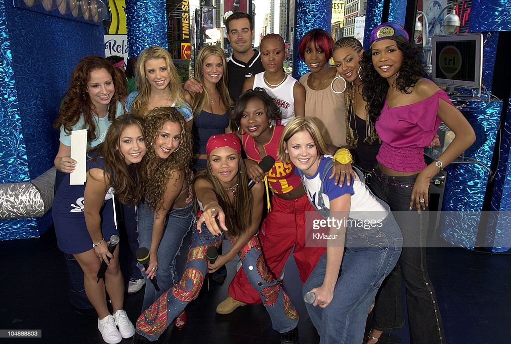 Carson Daly, Jessica Simpson, Dream, 3LW & Destiny's Child