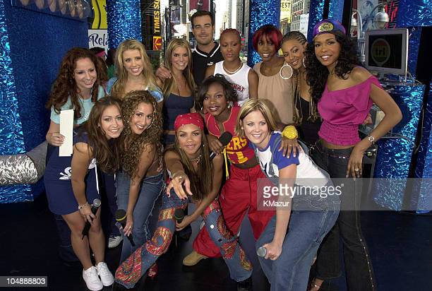 Carson Daly Jessica Simpson Dream 3LW Destiny's Child