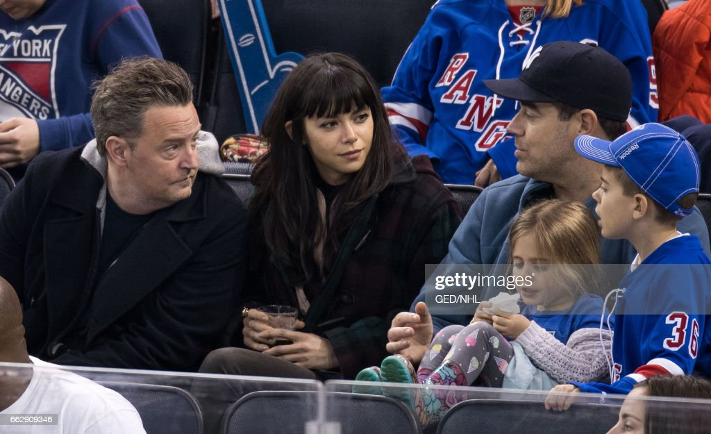 Celebrities Attend Pittsburgh Penguins Vs. New York Rangers -  March 31, 2017 : News Photo