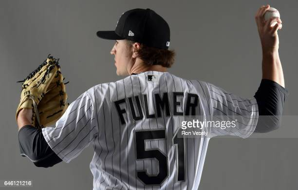 Carson Fulmer the Chicago White Sox poses for a portrait during Photo Day on February 23 2017 at Camelback Ranch in Glendale Arizona