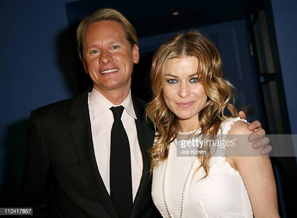 Carson Kressley and Carmen Electra during Carson Kressley Hosts all Clothing Love Affair Party at Gramercy Park Hotel in New York City New York...