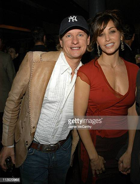 Carson Kressley and Gina Gershon during YSL and Jude Law Host a Grand Classics Evening in Honor of Cinema and Alfie at Soho House in New York City...