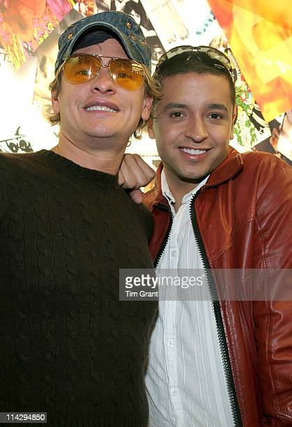 Carson Kressley and Jai Rodriguez during Apple Store 5th Avenue Opening at Apple Store 5th Avenue in New York New York United States