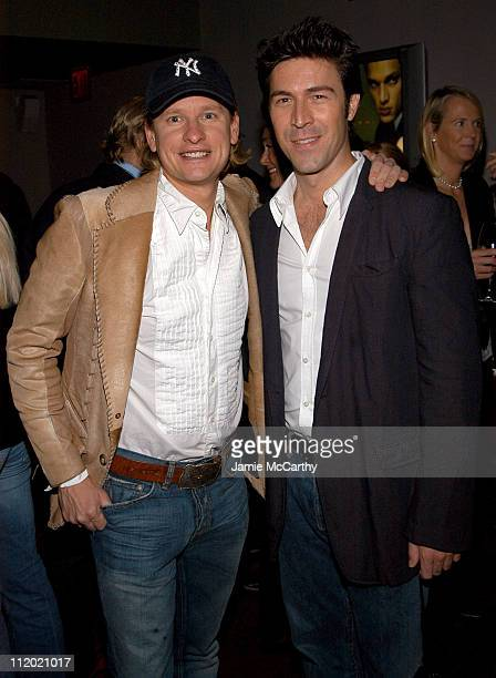 Carson Kressley and Kyan Douglas during YSL and Jude Law Host a Grand Classics Evening in Honor of Cinema and Alfie at Soho House in New York City...