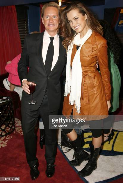 Carson Kressley and Petra Nemcova during Carson Kressley Hosts all Clothing Love Affair Party at Gramercy Park Hotel in New York City New York United...