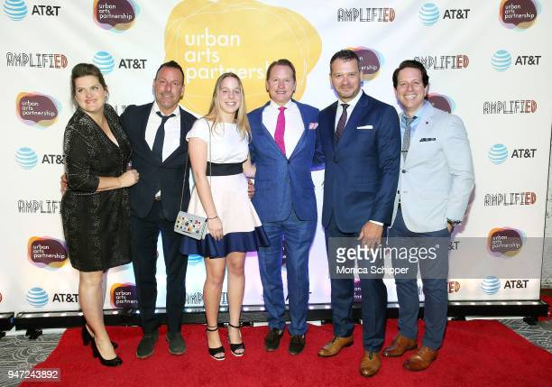 Carson Kressley and Philip Courtney attend the Urban Arts Partnership's AmplifiED Gala at The Ziegfeld Ballroom on April 16 2018 in New York City