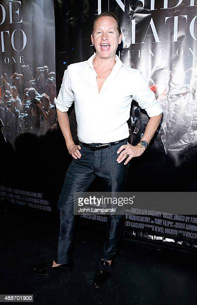 Carson Kressley attends 'Inside Amato' New York premiere at Liberty Theater on September 16 2015 in New York City