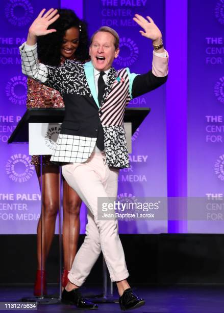 Carson Kressley attends the Paley Center For Media's 2019 PaleyFest LA RuPaul's Drag Race held at the Dolby Theater on March 17 2019 in Los Angeles...