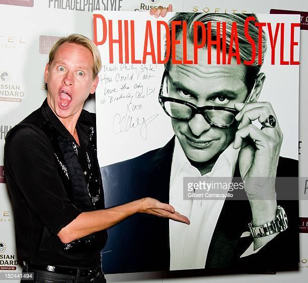 Carson Kressley attends the Philadelphia Style Magazine Fall 2012 cover launch at the Sofitel Hotel on September 20 2012 in Philadelphia Pennsylvania