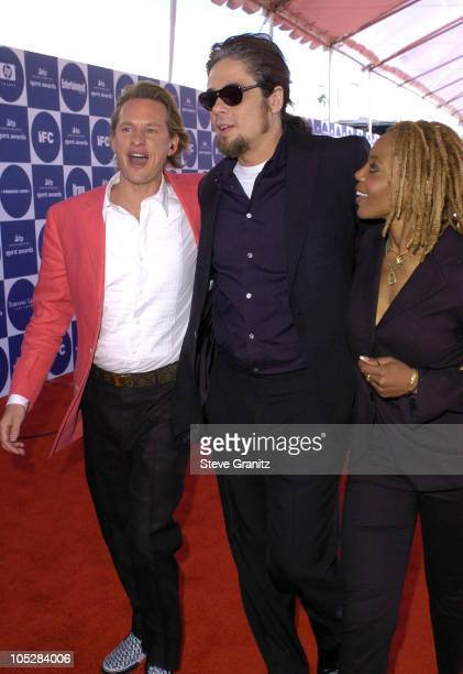 Carson Kressley Benicio Del Toro and Debra Wilson