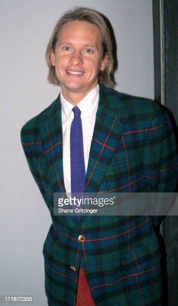 Carson Kressley during 'Dinah The Christmas Whore' by David Sedaris A Benefit for 'Everybody Wins' Children's Literacy Fund at Lot 61 in New York...