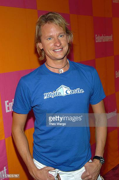 Carson Kressley during Entertainment Weekly's Celebration of The Must List The 137 People Things We Love This Summer Issue PreShow at CroBar in New...