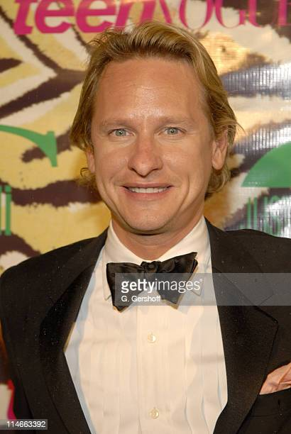 Carson Kressley during Just Cavalli and Teen Vogue Host Fashion Fete To Celebrate Summer May 3 2006 at The Manor in New York City New York United...