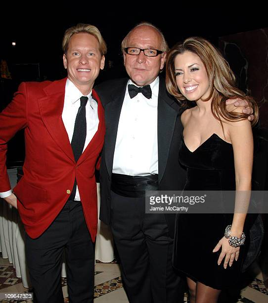 Carson Kressley, Ed Jankowski, COO of Solstice and Bobbie Thomas