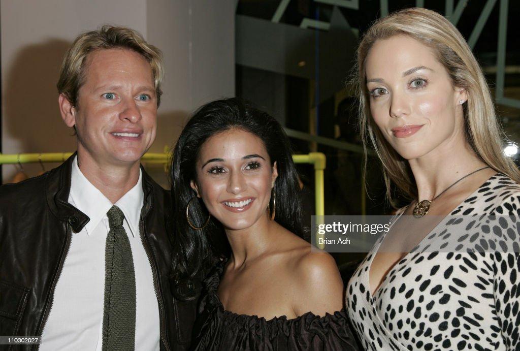 Carson Kressley, Emmanuelle Chriqui, and Elizabeth Berkley