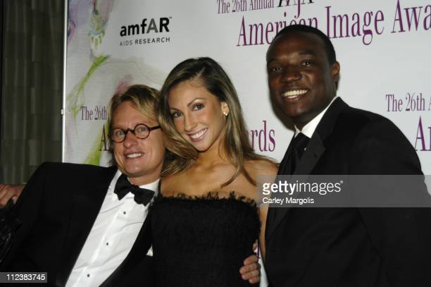 Carson Kressley of Queer Eye for the Straight Guy Katrina Campins and Kwame Jackson of The Apprentice