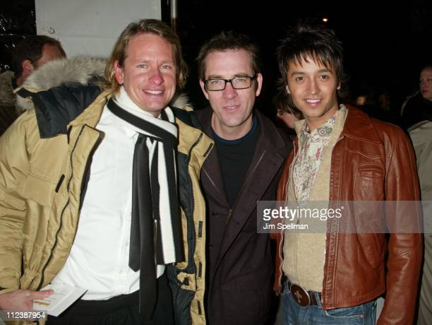 Carson Kressley Ted Allen and Jai Rodriguez from the cast of 'Queer Eye for the Straight Guy'