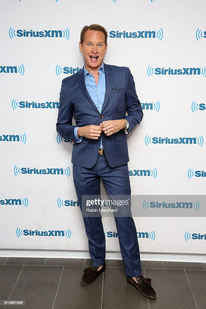 Carson Kressley visits at SiriusXM Studio on October 11, 2016 in New York City.