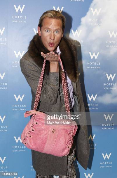 Carson Kressley visits the W Hotels VIP Lounge presented by MCM at W Lounge on February 17, 2010 in New York City.