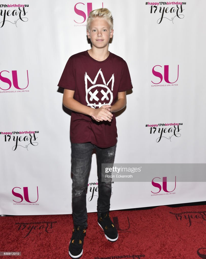 Carson Leuders attends SU Magazine's 17th Anniversary Celebration at Avalon on August 12, 2017 in Hollywood, California.