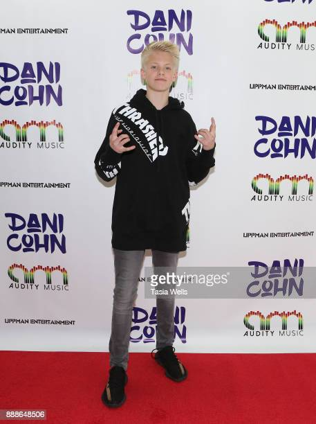 Carson Lueders at Dani Cohn's Single Release Party for #FixYourHeart on December 8 2017 in Burbank California