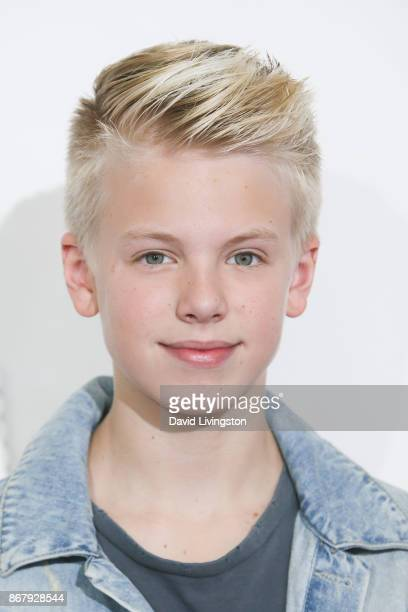 Carson Lueders attends the Elizabeth Glaser Pediatric AIDS Foundation's 28th Annual A Time For Heroes Family Festival at Smashbox Studios on October...