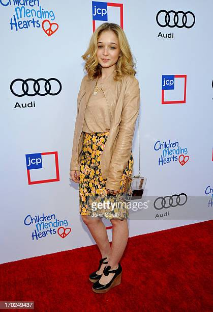 Carson Meyer arrives at the 1st Annual Children Mending Hearts Style Sunday on June 9 2013 in Beverly Hills California