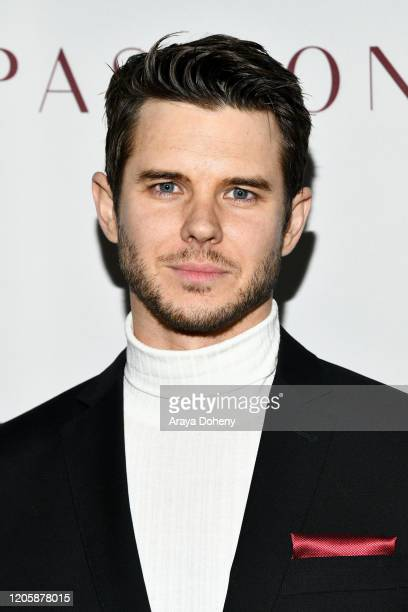 Carson Nicely attends Passionflix's The Will Los Angeles Premiere on February 12 2020 in Culver City California