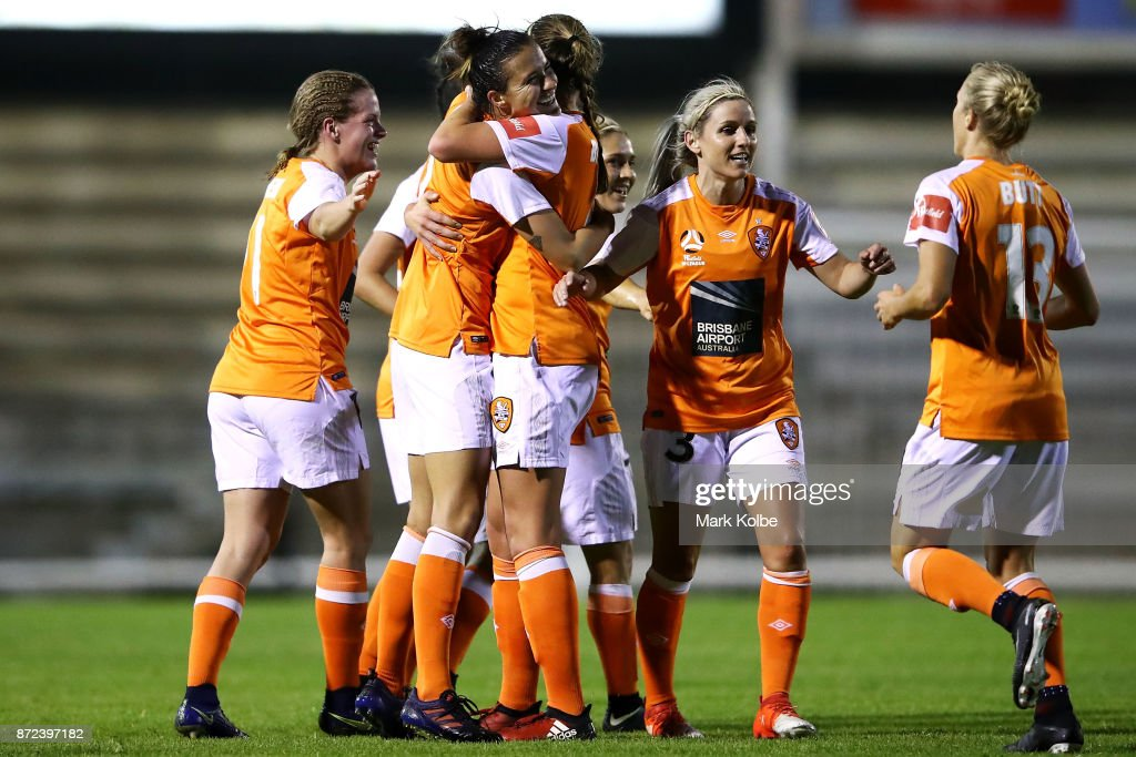 W-League Rd 3 - Western Sydney v Brisbane : News Photo