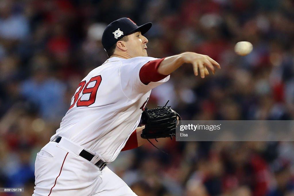 Divisional Round - Houston Astros v Boston Red Sox - Game Three : News Photo