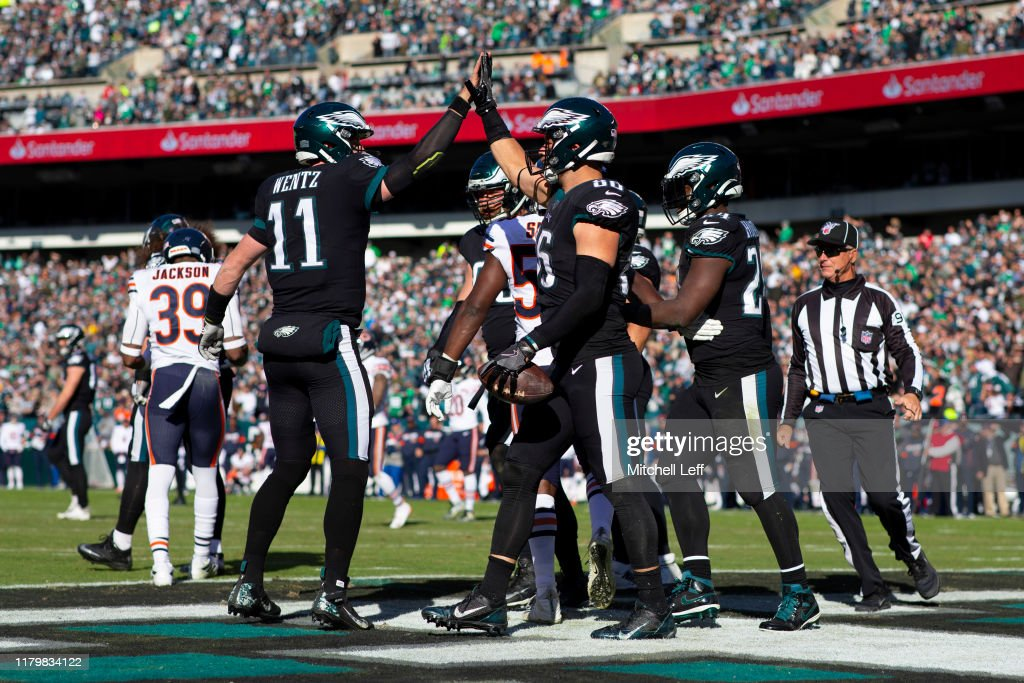 Chicago Bears v Philadelphia Eagles : News Photo