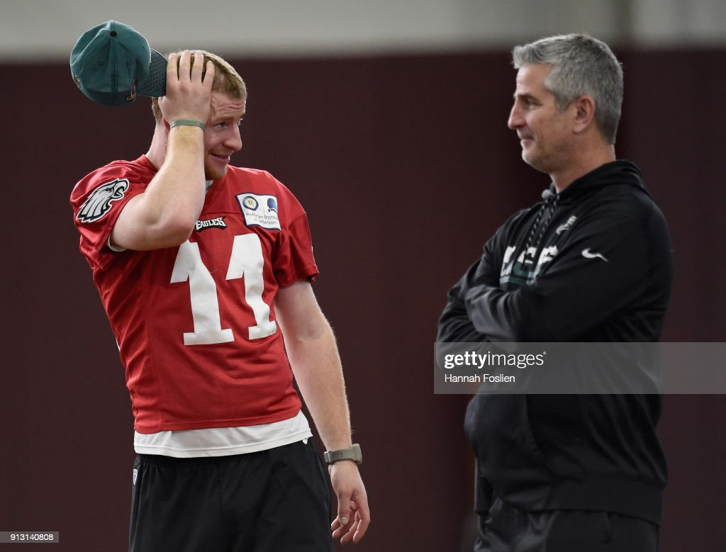 Super Bowl LII - Philadelphia Eagles - Practice